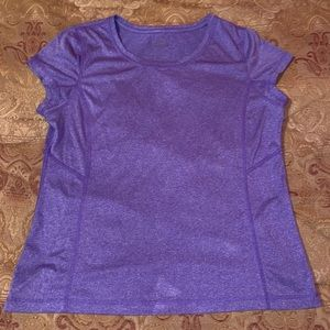 Tops - Purple Workout Top